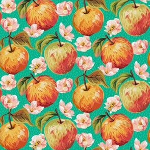 Autumn Splendour - Apples & Blossom - Mint