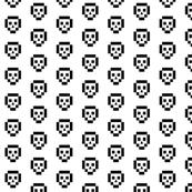 8-bit skulls