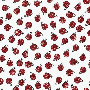 Ditsy Polka Dot Red Snails