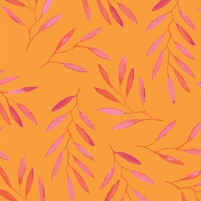 willow - Pink & Orange