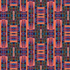 dark feather pattern