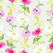Watercolor Flowers Garden Party