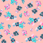 Cute Pink Floral Pattern