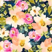 Portadown Watercolor Floral