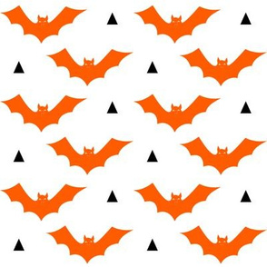 halloween bat orange and black kids costume  october halloween fabric
