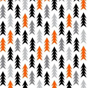 halloween forest spooky trees scary kids halloween orange