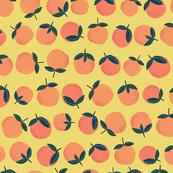 oranges // orange and yellow color nursery