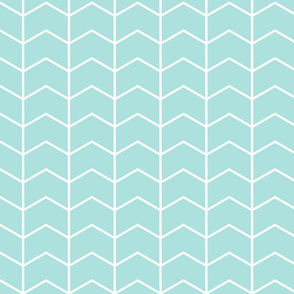 chevron - baby blue  || the arden collection