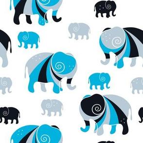 Elephant Swirls
