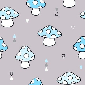 Cute Mushrooms and Toadstools