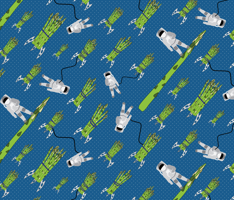 Outer space asparagus miss chiff designs fabric for Outer space material