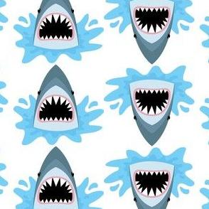 Cute Summer Shark Pattern