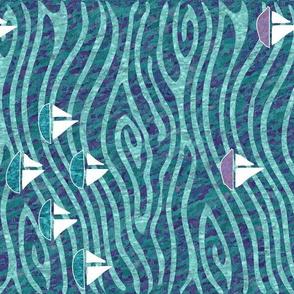 SailingAtTheLake-batik textures-NEWCORR2waves-rotated-batiks