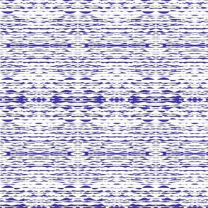 Rippling Wavelets in the Moonlight - Bluebell and White