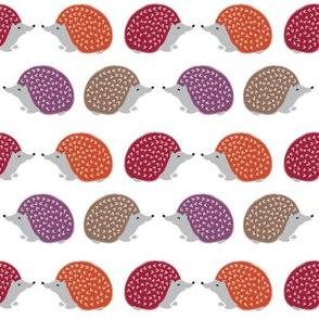 hedgehog // fall autumn hedgie kids woodland critter autumn fabric for kids