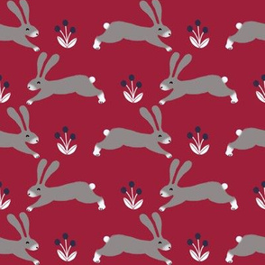 rabbit // fall autumn rabbit woodland creature critter fall kids rabbit bunny