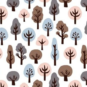 fall trees // autumn soft colors kids khaki baby nursery sweet fall autumn nature trees woodland forest