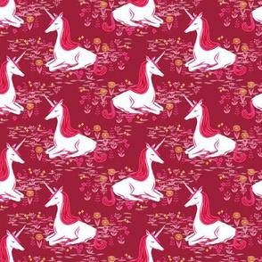unicorn // maroon burgundy fall autumn girls kids sweet unicorns