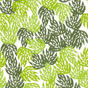tropical palm print // palms linocut block print palm print 2017 monstera leaf leaves kids