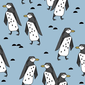 penguins // penguin pingu winter bird antarctic kids cute bird design