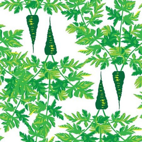 Carrots All In Green_Miss Chiff Designs