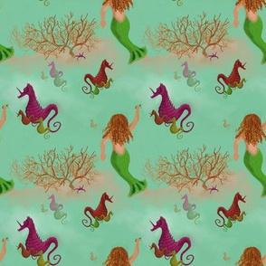 Unicorns vs. Mermaids