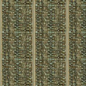 Fiber Pebble weaving