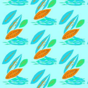 Surfing Leaves