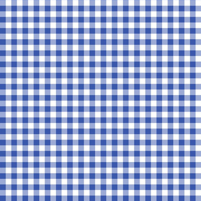 Mini Gingham Blueberry
