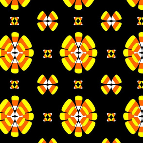 candy corn floral
