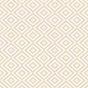 Small Print Tan Aztec