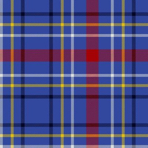 Maud, Mary tartan - royal blue