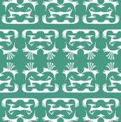Tribal Print 2 Green