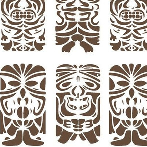 Tiki Faces