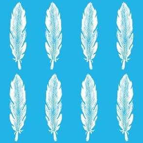 Feather Blue