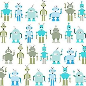 8bit robots - small