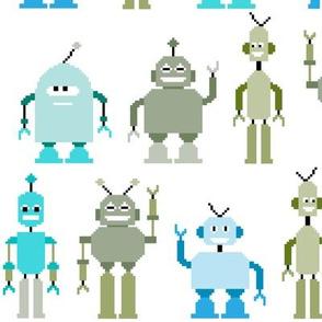 8bit robots - large