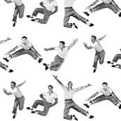 Gene kelly - Gotta Dance - black and white