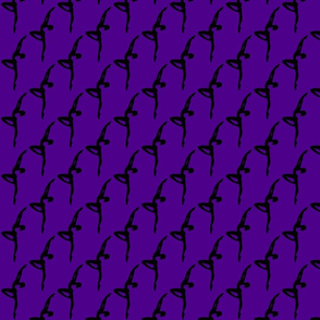 Ballet Dancers on Purple (small)