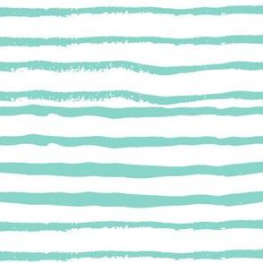 stripes handpainted stripe coordinate nursery baby boys mint nursery