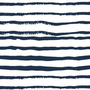 stripes handpainted stripe coordinate nursery baby boys navy blue
