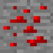 8-Bit Pixel Red Stone