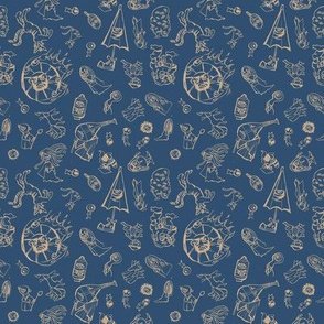 Yokai Attack Blue