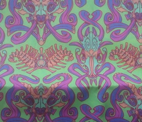 Monster Damask (pastel)