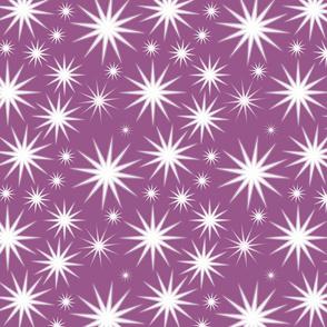 cactus spines on purple