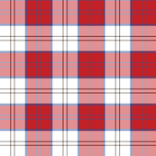 Dress Red Lennox tartan variant