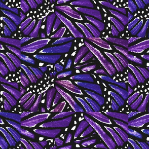 Purple Butterfly Quilt