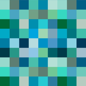 Color-block block