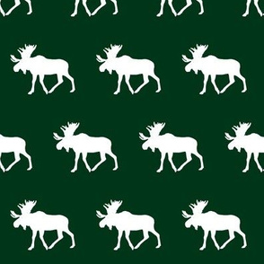 moose (small scale) - forest green || holiday