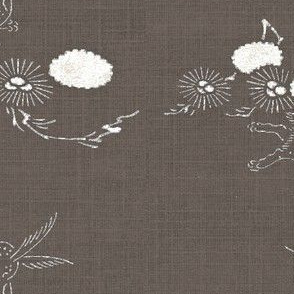 woodland hare - wenge and white